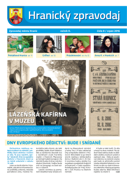 červenec 2016 - Město Hranice