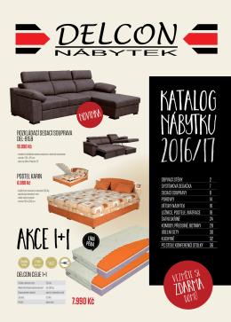 Katalog nábytku - Delcon nábytek