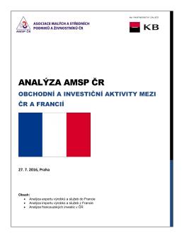 analýza amsp čr - Asociace malých a středních podniků a