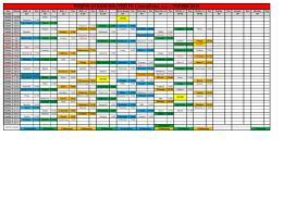 Aktuální rozpis zápasů podzimní části ČFL