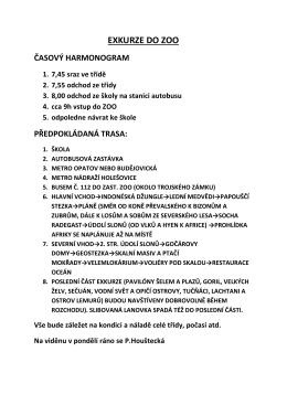 exkurze do zoo - jesenice.unas.cz