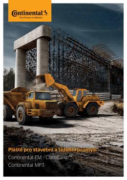 Pláště pro stavební a těžební průmysl