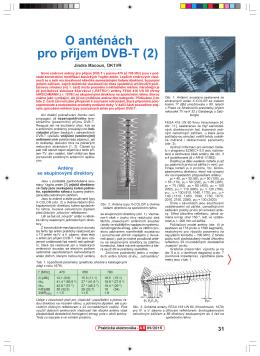 65. O anténách pro příjem DVB