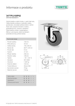 Informace o produktu 3477PIJ100P62