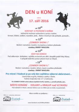 Den u koní - Libčice nad Vltavou