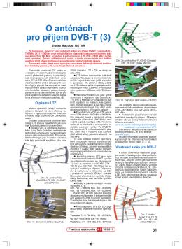 66. O anténách pro příjem DVB