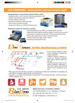on-line monitorovací systém