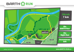 Okruh 7 km - BARTH Run