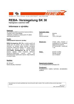 REBA SK 30 - Presbeton