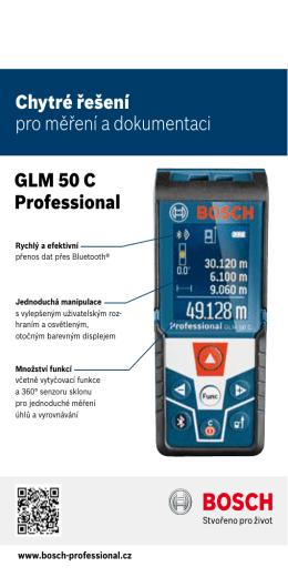 Produktový list Bosch GLM 50 C Professional