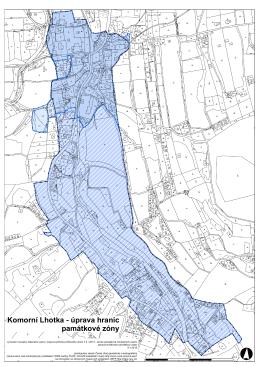 rozsah-KomLhotka mapa