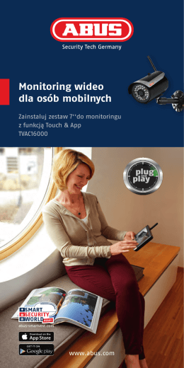Monitoring wideo dla osób mobilnych