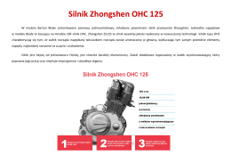 Silnik Zhongshen OHC 125