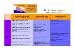 Program Festiwalu do pobrania