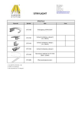 strylight - Pro Aluminium System