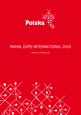 MAHAL EXPO INTERNATIONAL 2016