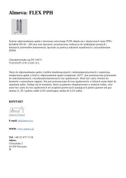 Almeva: FLEX PPH - Ogrzewnictwo.pl