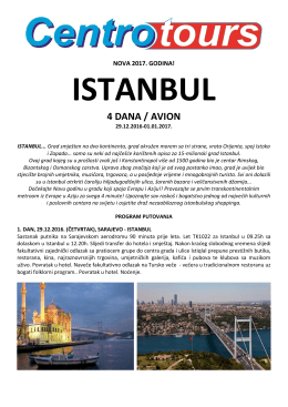 Istanbul - Centrotours