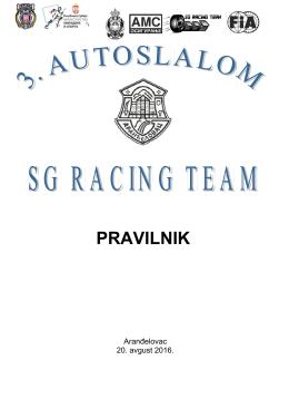 3.auto slalom arandjelovac 2016.