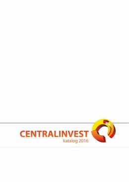 katalog proizvoda - Centralinvest • O nama