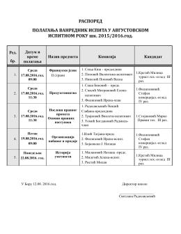 raspored_vanrednih_ispita_avgust_2016