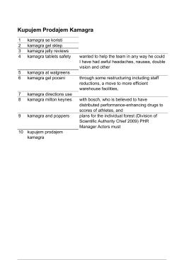 Kamagra Gel Sklep - Kamagra Tablets Safety
