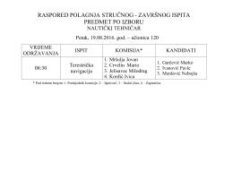 brodomašinski tehničar - Pomorska škola – Kotor