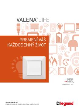 Valena Life - Legrand Slovensko sro