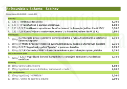 PDF verzia denného menu - restauraciaubazanta.sk