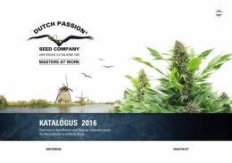 katalógus 2016 - Dutch Passion