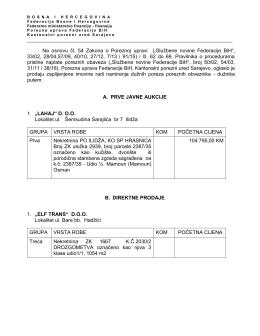 ovdje - Porezna uprava Federacije BiH