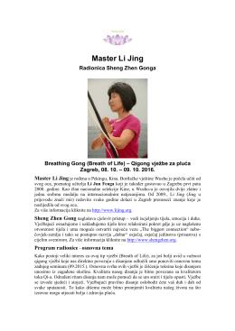 Master Li Jing 2016-10