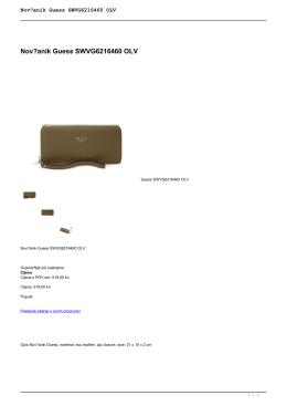 Novčanik Guess SWVG6216460 OLV