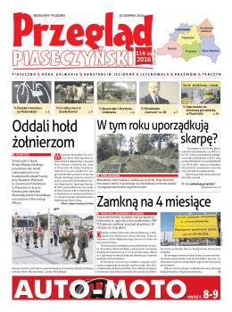 Pobierz Przegląd Piaseczyński, Wydanie 114