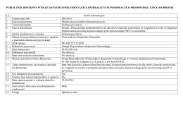 Karta informacyjna 286/2016 - BIP Urzędu Marszałkowskiego