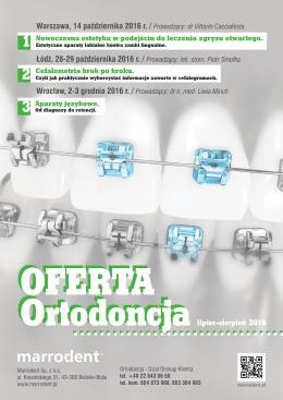 Oferta Ortodontyczna 7-8.2016