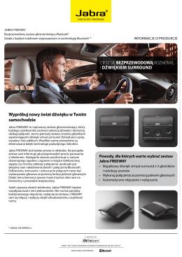 Wypróbuj nowy świat dźwięku w Twoim samochodzie CIESZ