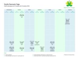 Grafik od 15 do 31 sierpnia