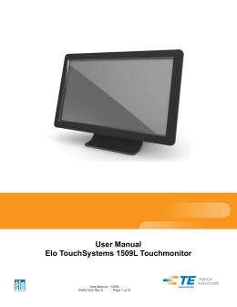 - Elo Touch Solutions