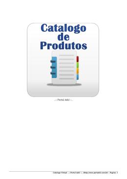 Catalogo Virtual de Produtos ..:: Portal Adsl ::..