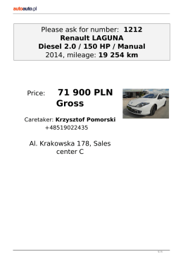 Print offer - Autoauto.pl
