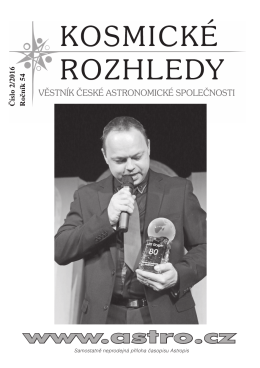 2/2016 - Česká astronomická společnost