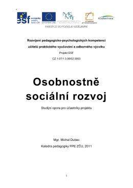 Osobnostně sociální rozvoj