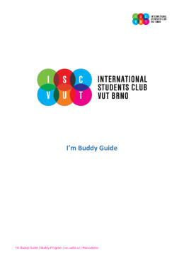 I`m Buddy Guide
