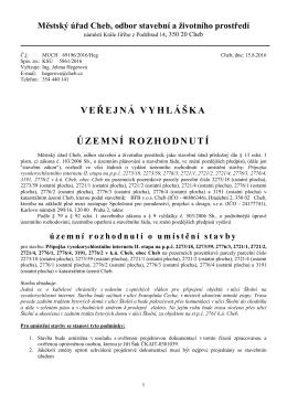 Přípojka vysokorychlostního internetu II. etapa na p.p.č