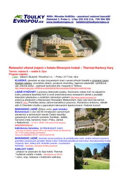 Thermal KARLOVY VARY