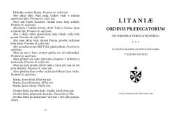 litani ć - Česká dominikánská provincie