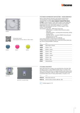 Základní schémata a katalogové listy ke stažení