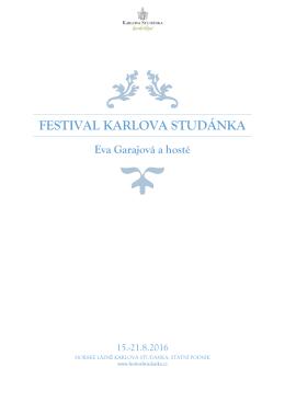 program festivalu 2016