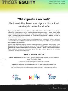 Další informace - Národní ústav duševního zdraví